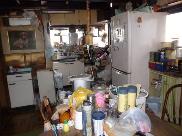 キッチン施工前写真
