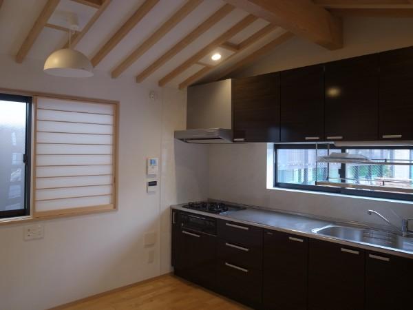 広くなったキッチン