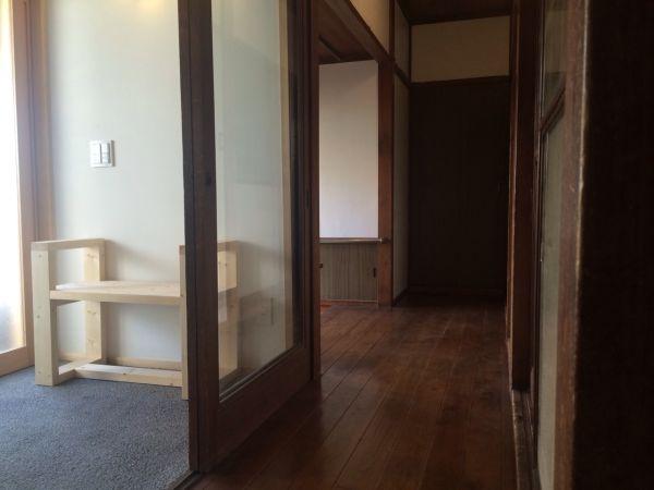 土間と廊下がフラットな第2の玄関